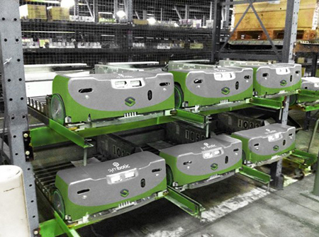 Disruptive Technology Change in Distribution Center Automation