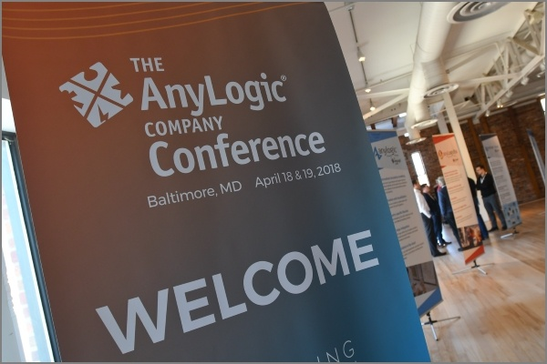 Presentations from the AnyLogic Conference 2018