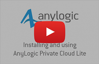 Видео: устанавливаем и используем AnyLogic Private Cloud Lite