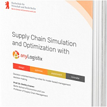 Free book: Supply Chain Simulation and Optimization with anyLogistix